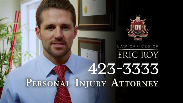 Eric Roy Law TV Commercial