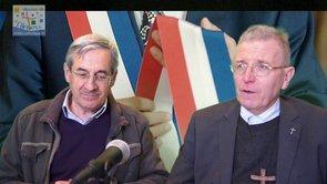 Interview de Mgr Robert Wattebled, évêque de Nîmes et Gilles Rerolle, responsable du Pôle Solidarité
