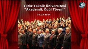 YTÜ 2014 Akademik Ödül Töreni