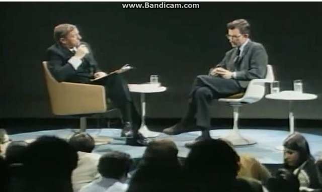 Satanic tv shows vs. Noam Chomsky