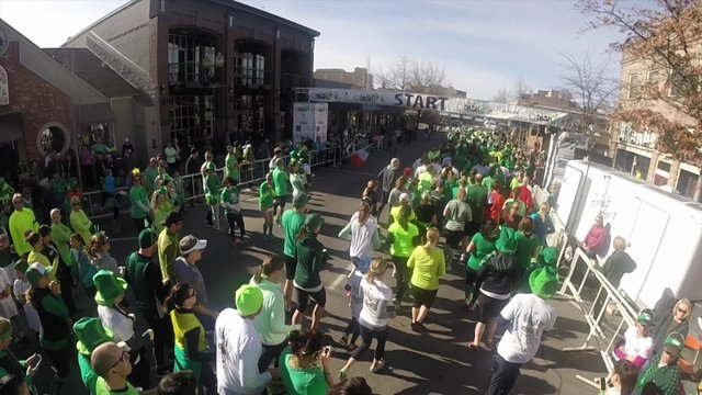St. Patrick's Day Rotary Dash 2014