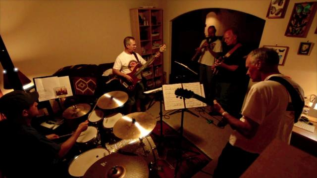 Put It Where You Want It. (rehearsal in the bat cave)